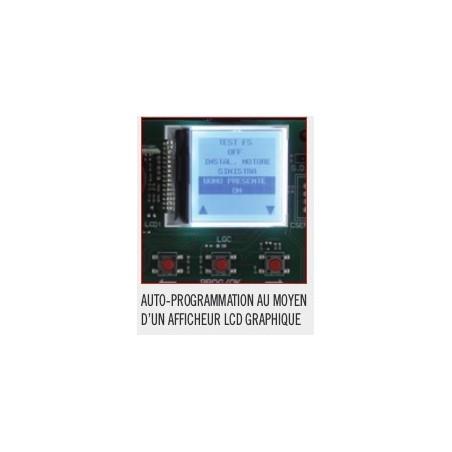 SL524CB Afficheur LCD Kit cardin de portail coulissant