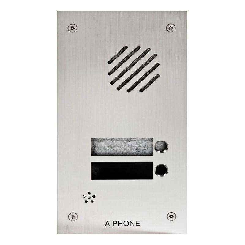 Façade inox 2 appels pour DA1DS - Aiphone