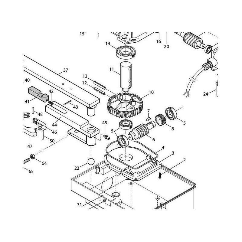 XAHL251 RUOE roue dentée HL251