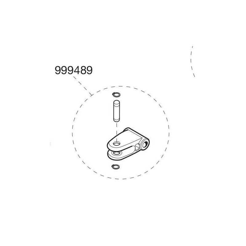 Articulation fixation arrière BL224