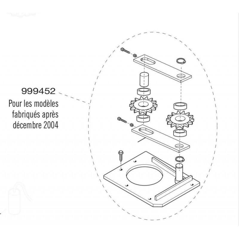 Kit tendeur de chaîne cardin 999452