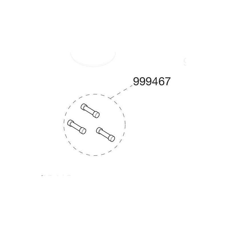 Fusibles pour moteur SL4024 Cardin