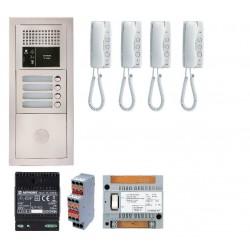 GTBA4E Aiphone - 4 appartements