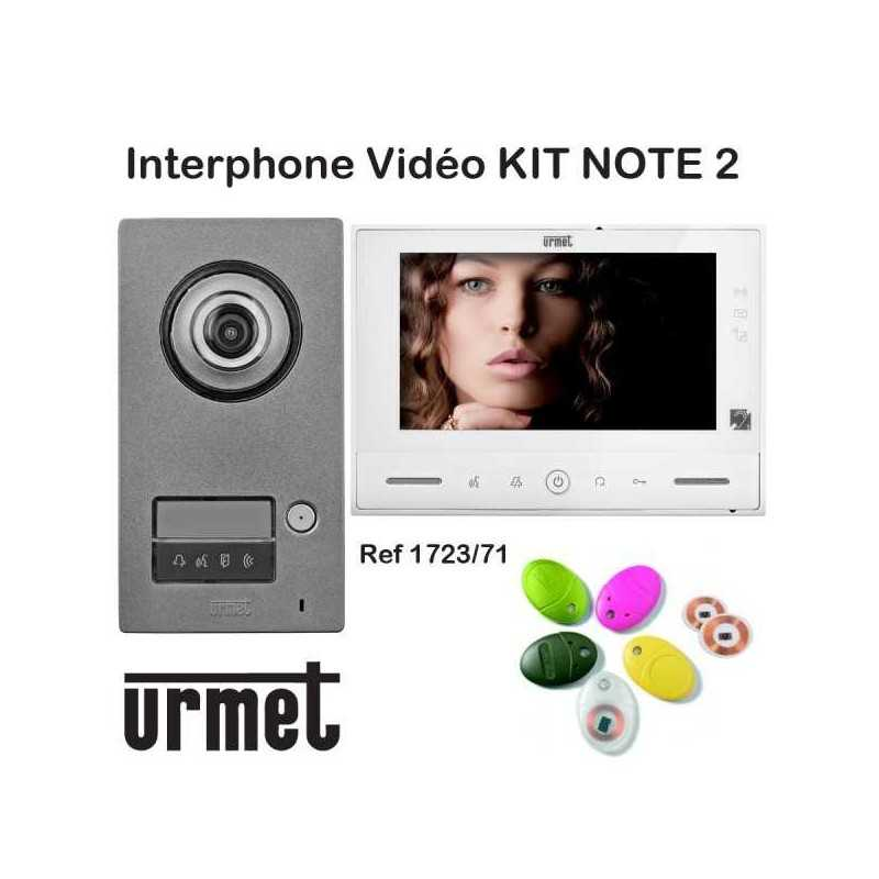 KIT NOTE 2 URMET 1723/71