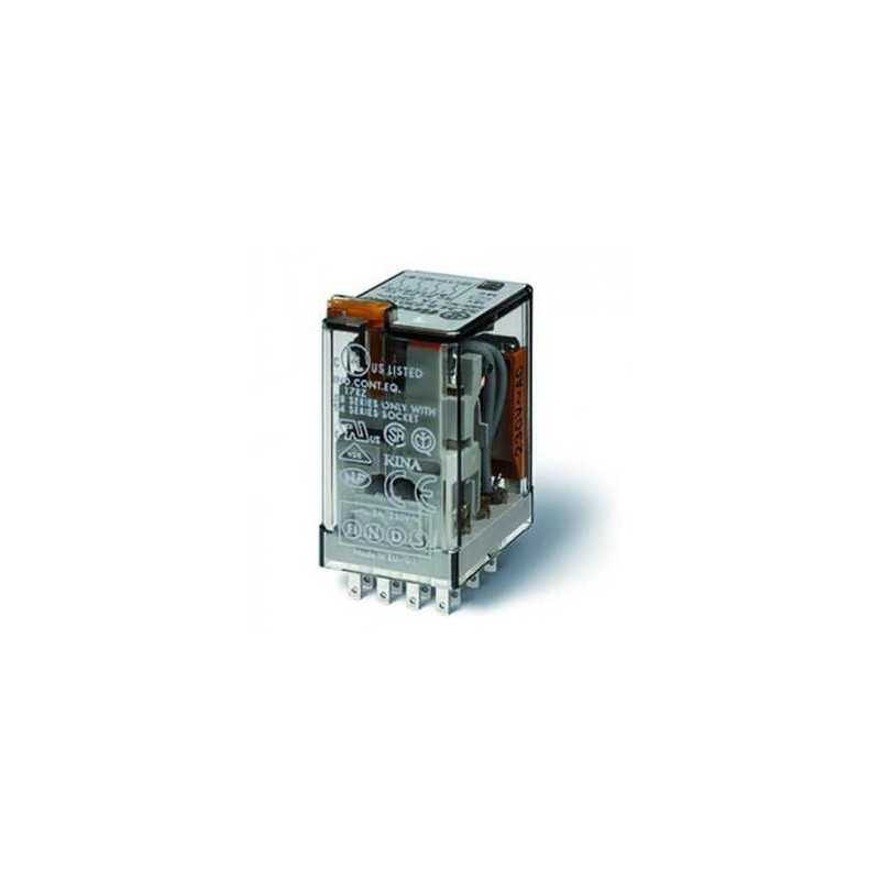 FID12AC Relais embrochable 12 Volts