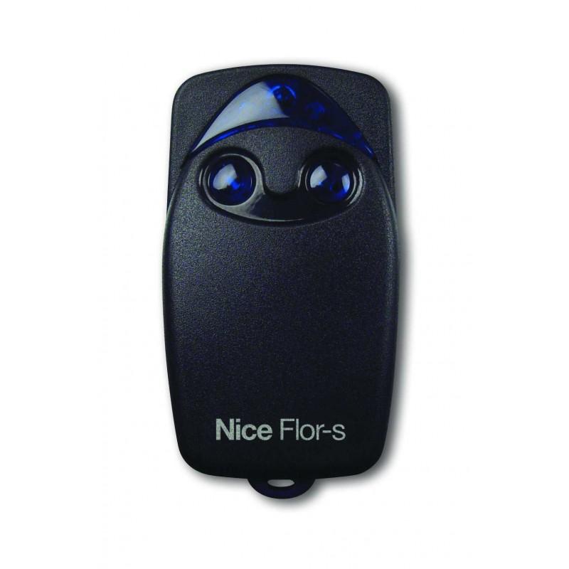 Télécommande Nice FLO2R-S rolling code 433 mhz