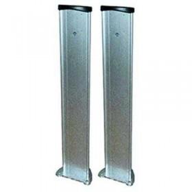 Potelets aluminium 60 cm