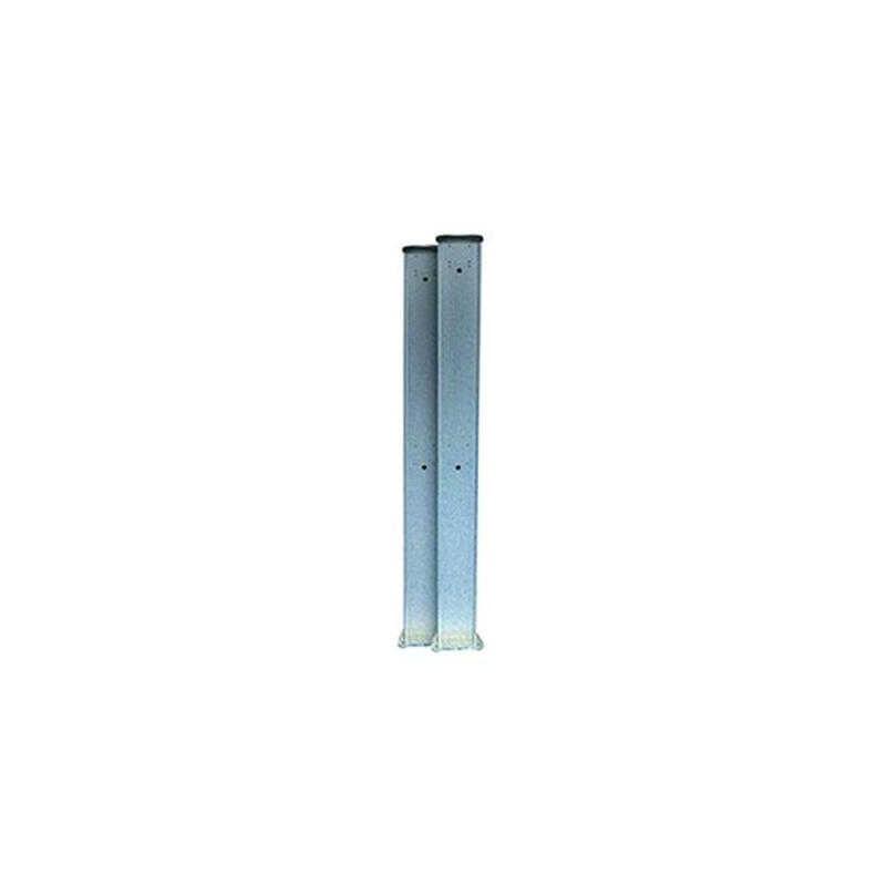 Potelets aluminium 120 cm
