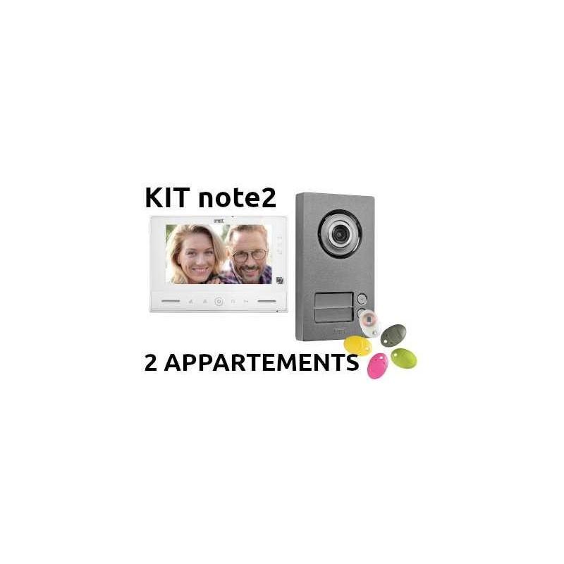 KIT NOTE 2 URMET 1723/72 POUR DEUX APPARTEMENTS.