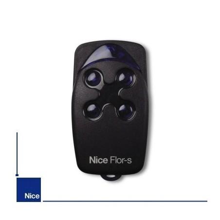 Télécommande Nice FLO4R-S rolling code 433 mhz