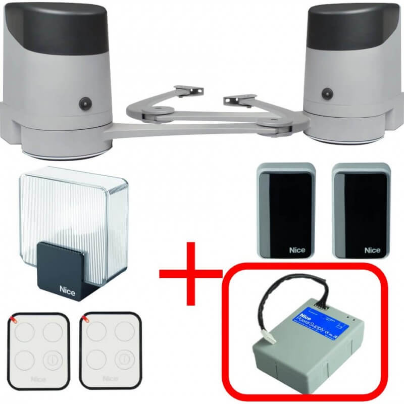 Le hoppkit plus batterie de secours