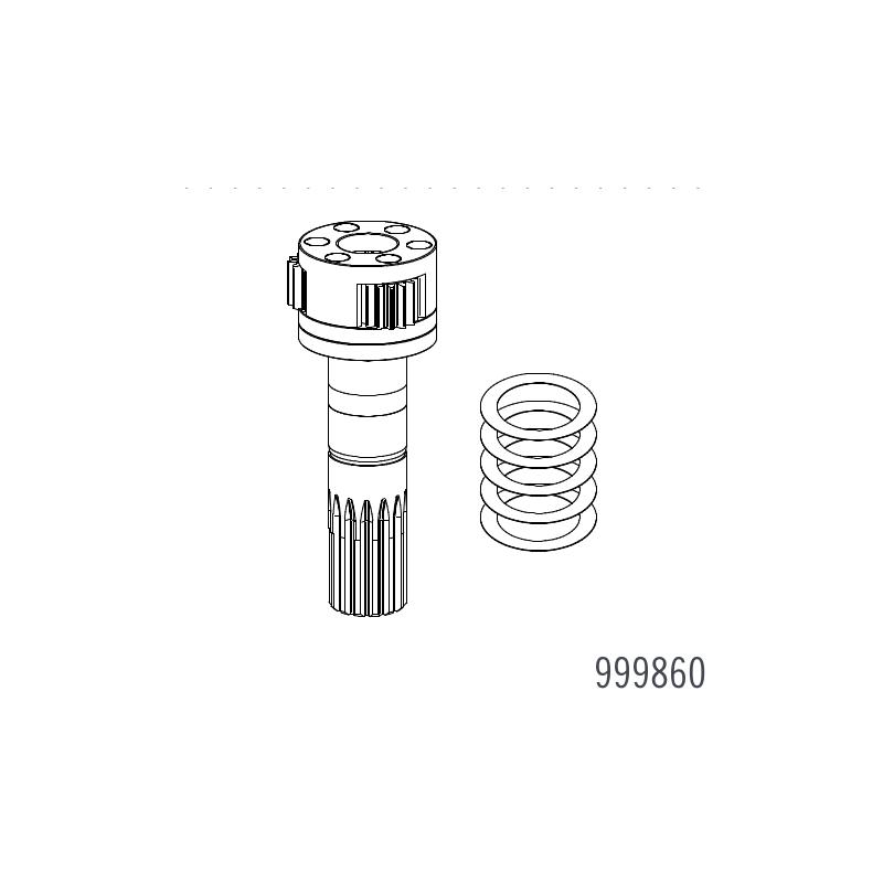 Réducteur 4e étage pour bl824 Cardin – Pièce 999860
