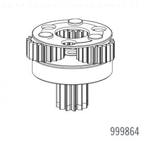 Réducteur pignon 3 Bl824