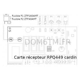 Fusible 4A pour RPQ449