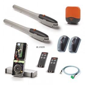 kit de motorisation à vérin Cardin pour portail battant de grande dimensions