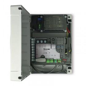 Coffret de commande Nice MC824H pour moteur portail battant TOONA, Xfab...