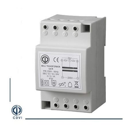 Transformateur 12/24 V AC CA1R CDVI