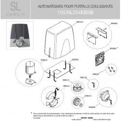 Encodeur (couvercle + carte) SL324