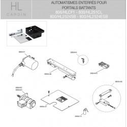 Boîte déverrouillage HL Cardin 999445