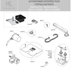 Levier de transmission HL Cardin 999450