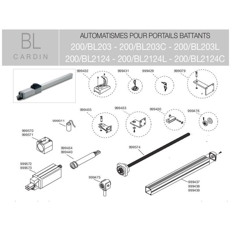Bloc réducteur BL203