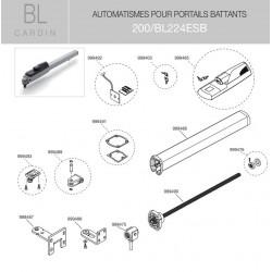 Passe-câble bl224 Cardin