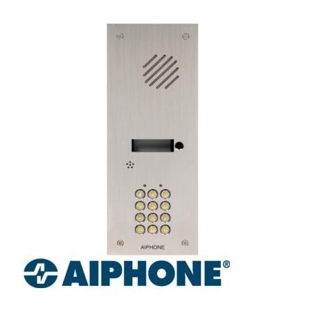 Aiphone KDA2 façade inox avec clavier à encastrée