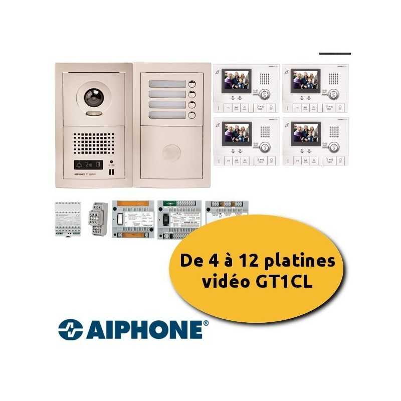 Kit collectif Aiphone GTV4E +GTAC