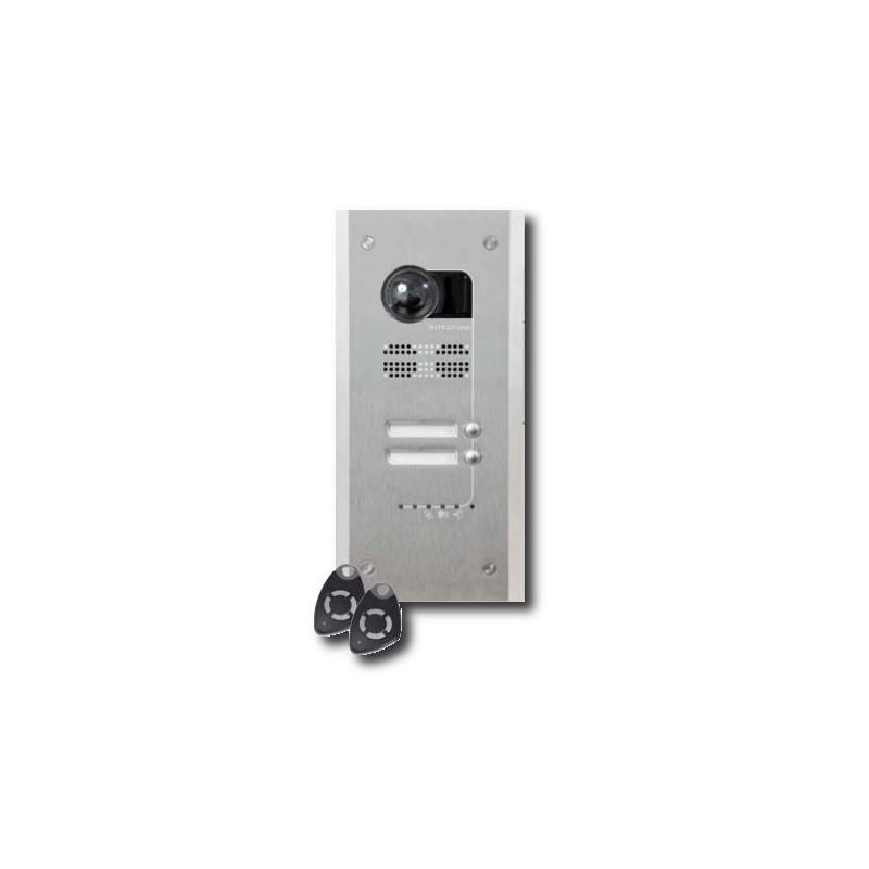 Intratone HV1EO Villa visio - Visiophone GSM pose encastrée