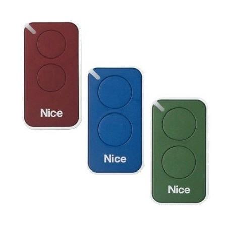 3 Télécommandes Nice de couleur RVB