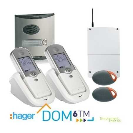 Hager LCP03F Interphone radio 2 logements sans fil