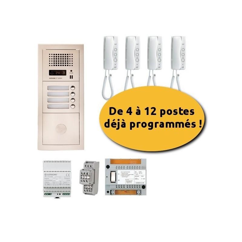 Aiphone GTA9E Interphone 9 appartements