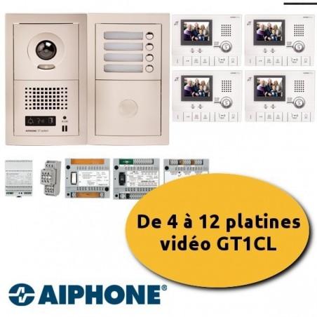 Aiphone GTV12E visiophone 12 appartements
