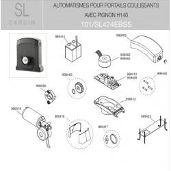 Carte chargeur SL424 &SL524 Cardin JPR1124CBTO