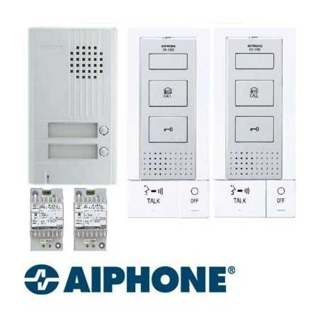 Aiphone KITDB2 Interphone pour 2 appartements