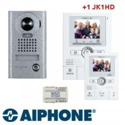Interphone vidéo Aiphone JKS1ADV +JK1HD