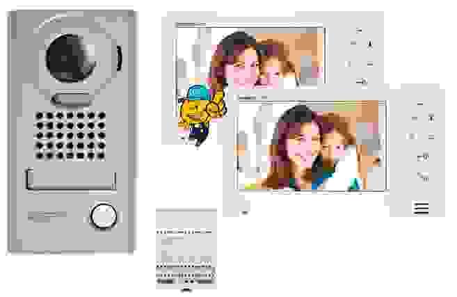 kit interphone JOS1V JOS1F moniteur JO1FD