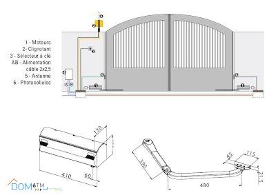 installation du kit 390 FACC kit Magnum intégral plus