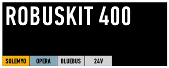 Kit Nice coulissant Robuskit 400