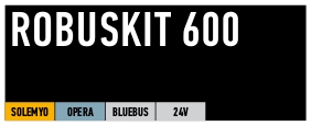 Kit Nice coulissant Robuskit 600